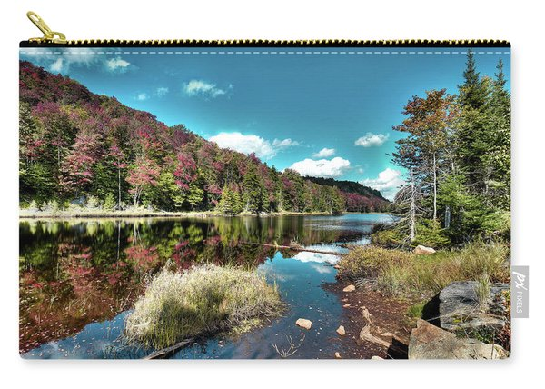 Bald Mountain Pond Reflections Carry-all Pouch