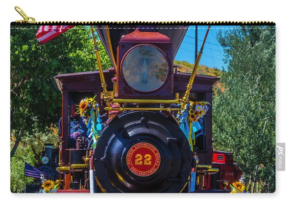 Baldwin Locomotive 22 Gingerbread Carry-all Pouch