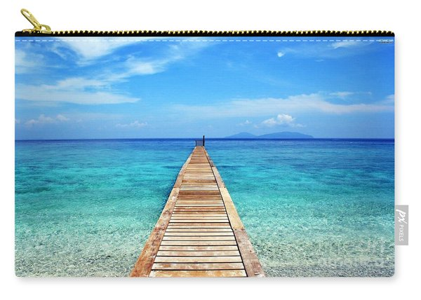 Bali Beach Indonesia Carry-all Pouch