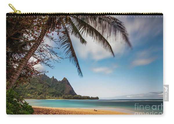 Bali Hai Tunnels Beach Haena Kauai Hawaii Carry-all Pouch