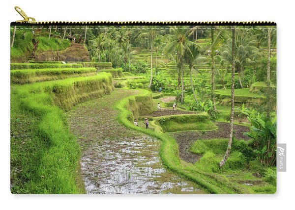 Bali - Rice Fields Terraces Carry-all Pouch