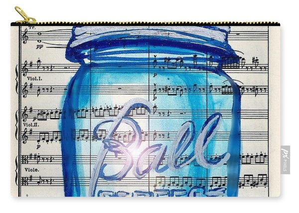 Ball Mason Jar Classical #168 Carry-all Pouch