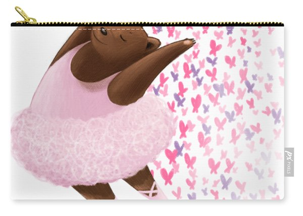 Ballet Bear Carry-all Pouch