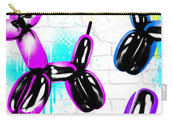 Balloon Pups Carry-all Pouch