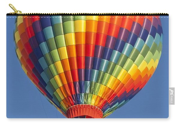 Ballooning In Color Carry-all Pouch