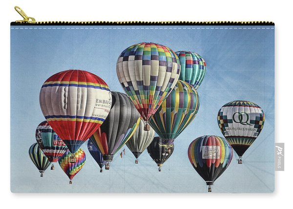 Ballooning Carry-all Pouch