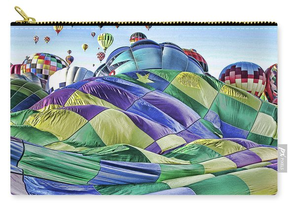 Ballooning Waves Carry-all Pouch