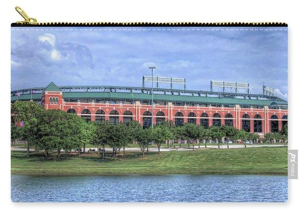 Ballpark In Arlington Now Globe Life Park Carry-all Pouch