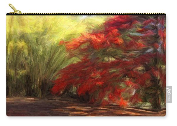 Bamboo And The Flamboyant Carry-all Pouch