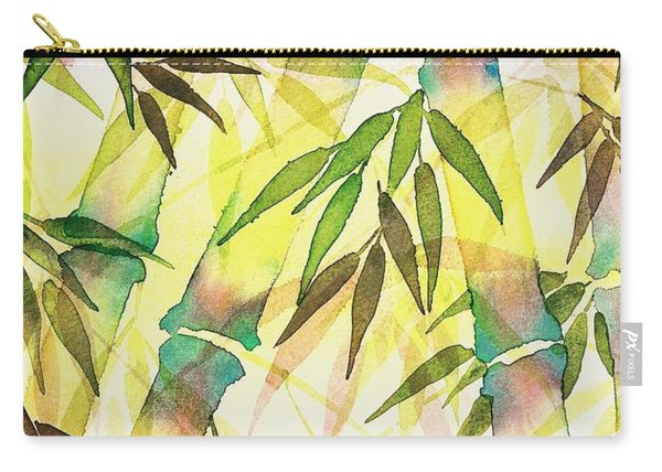 Bamboo Sunrise Carry-all Pouch