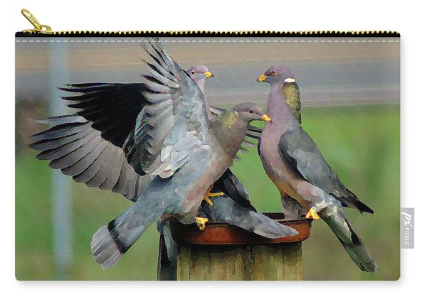 Band-tailed Pigeons #1 Carry-all Pouch