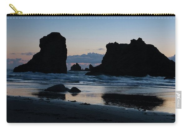 Bandon Oregon Sea Stacks Carry-all Pouch