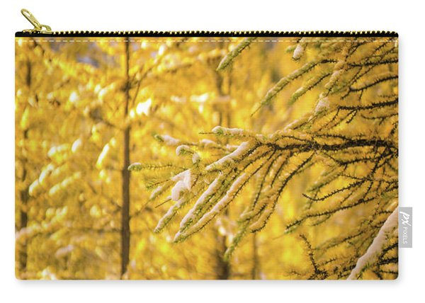 Banff Larch Valley Forest Of Gold Carry-all Pouch