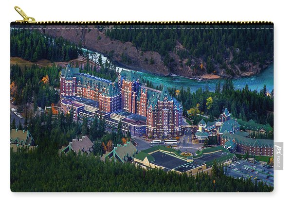 Banff Springs Hotel Carry-all Pouch