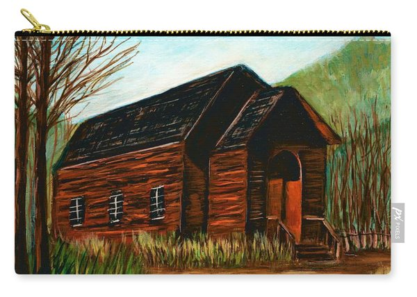 Bannack,montana Methodist Church  Carry-all Pouch