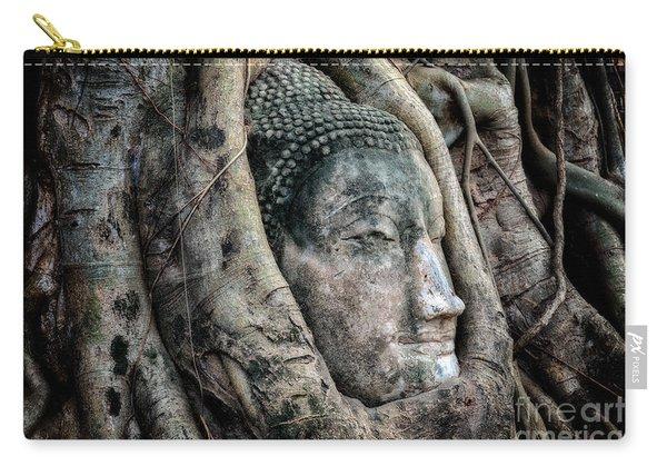 Banyan Tree Buddha Carry-all Pouch