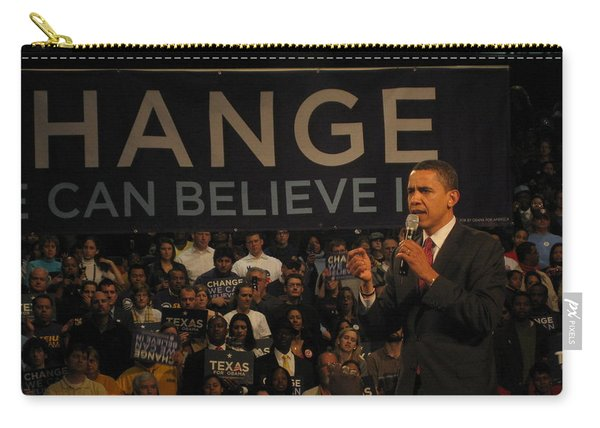 Barack Obama Campaigning Carry-all Pouch