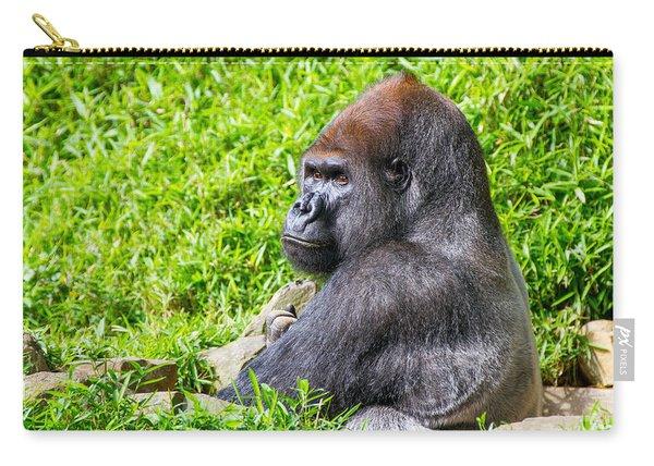 Baraka - Western Lowalnd Silverback Gorilla Carry-all Pouch