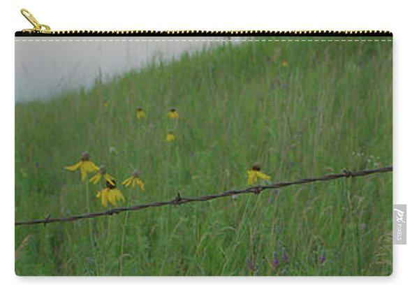 Barb Wire Prairie Carry-all Pouch