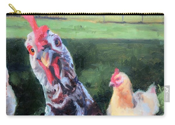 Barbara The Chicken Carry-all Pouch
