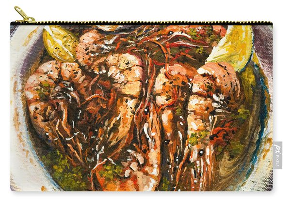 Barbequed Shrimp Carry-all Pouch
