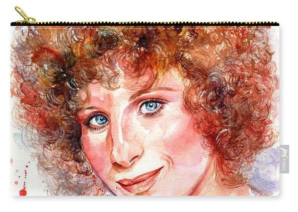 Barbra Streisand Portrait Carry-all Pouch