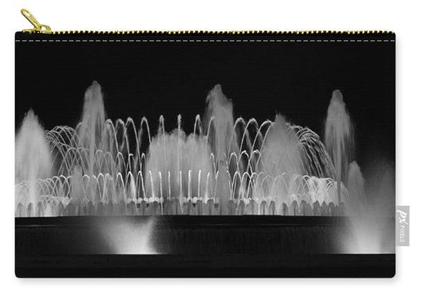 Barcelona Fountain Nightlights Carry-all Pouch