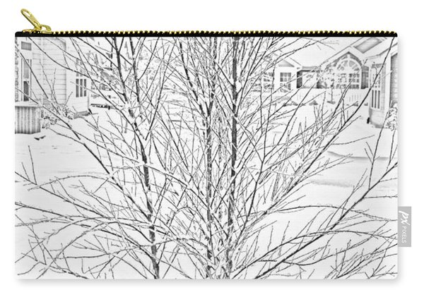Bare Naked Tree Carry-all Pouch