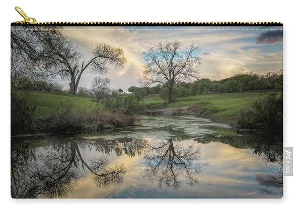 Bare Tree Reflections Carry-all Pouch
