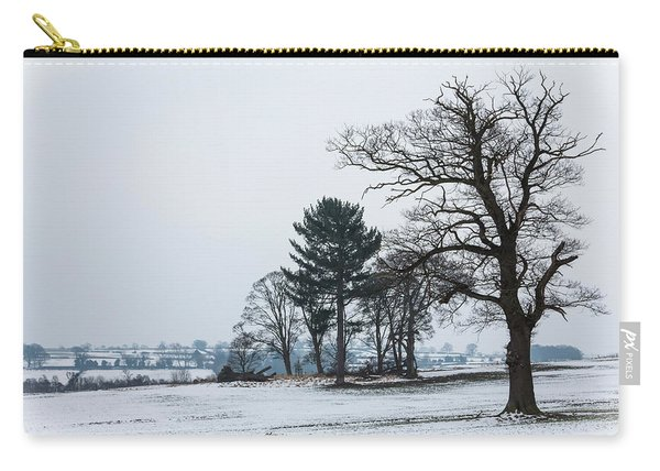 Bare Trees In The Snow Carry-all Pouch
