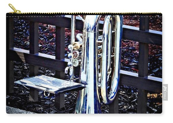 Baritone Horn Before Parade Carry-all Pouch