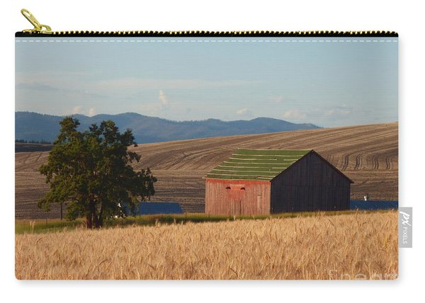 Barn And Wheat Carry-all Pouch