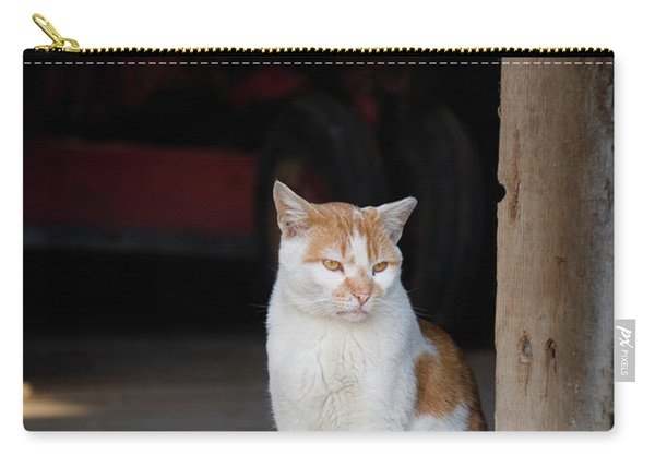 Barn Cat And Tractor Carry-all Pouch