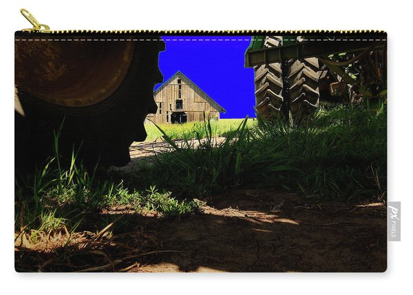 Barn From Under The Equipment Carry-all Pouch