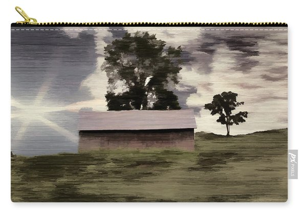 Barn II A Digital Painting Carry-all Pouch