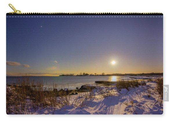 Barn Island Moonrise Carry-all Pouch