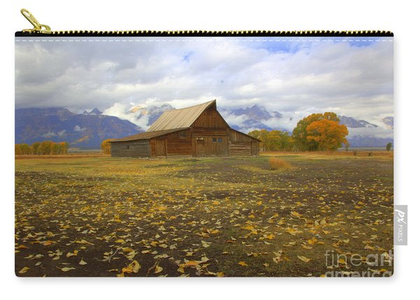 Barn On Mormon Row Wyoming Carry-all Pouch