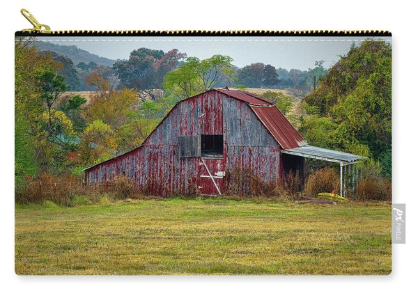 Barn On White Oak Road Carry-all Pouch