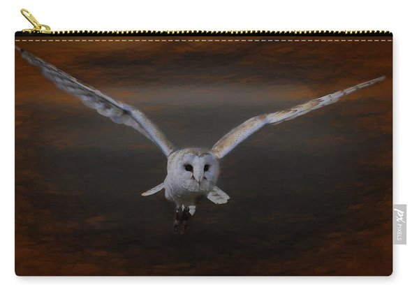 Barn Owl Drama Carry-all Pouch