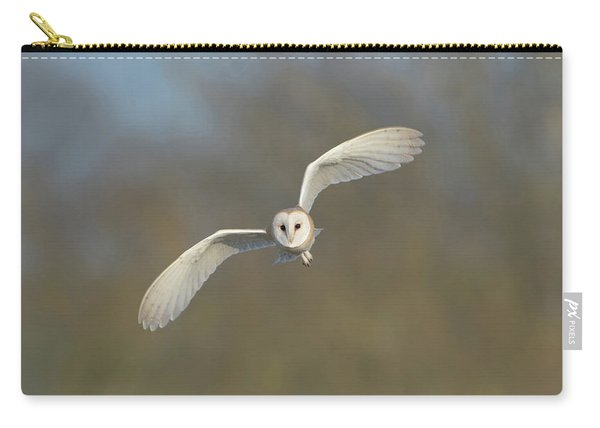 Barn Owl Hunting In Worcestershire Carry-all Pouch