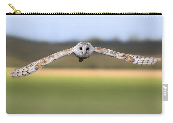 Barn Owl Swoop Carry-all Pouch