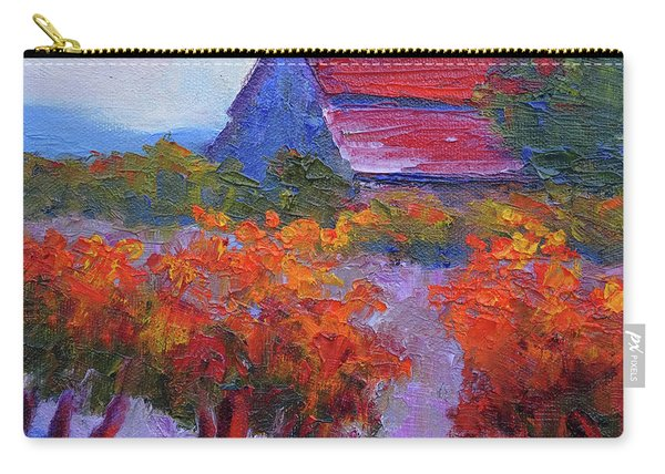 Barn Vineyard Autumn Carry-all Pouch
