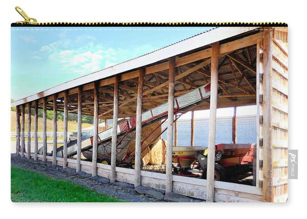 Barn With Hay 1 Carry-all Pouch