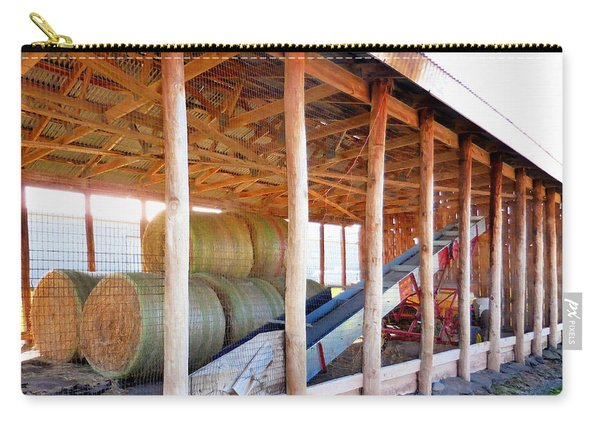 Barn With Hay 2 Carry-all Pouch