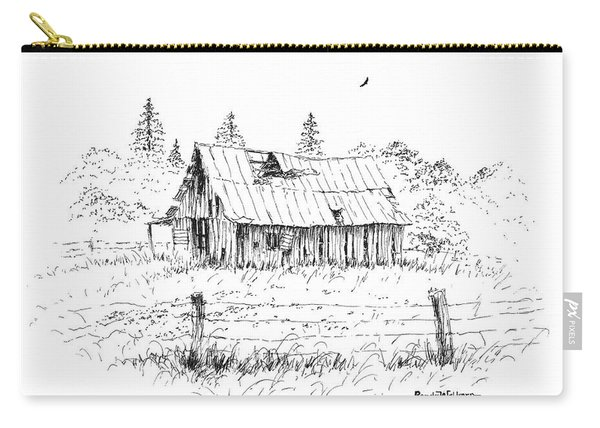 Barn With Skylight Carry-all Pouch