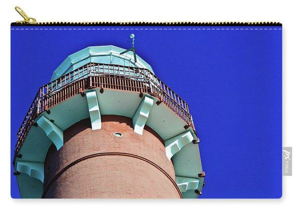 Barnegat Lighthouse Top Carry-all Pouch