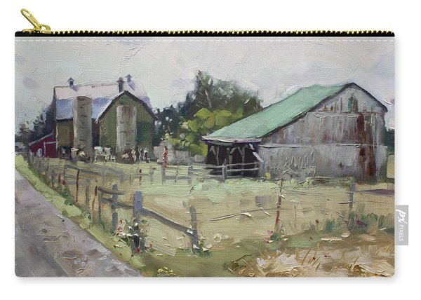 Barns And Old Shack In Norval Carry-all Pouch