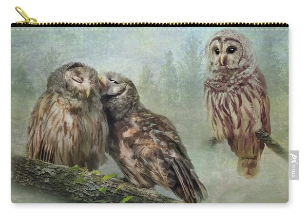 Barred Owls - Steal A Kiss Carry-all Pouch