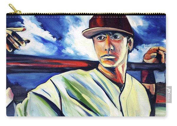 Baseball Crucifix Carry-all Pouch