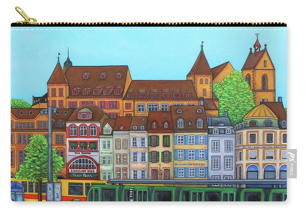 Basel, Barfusserplatz Rendez-vous Carry-all Pouch